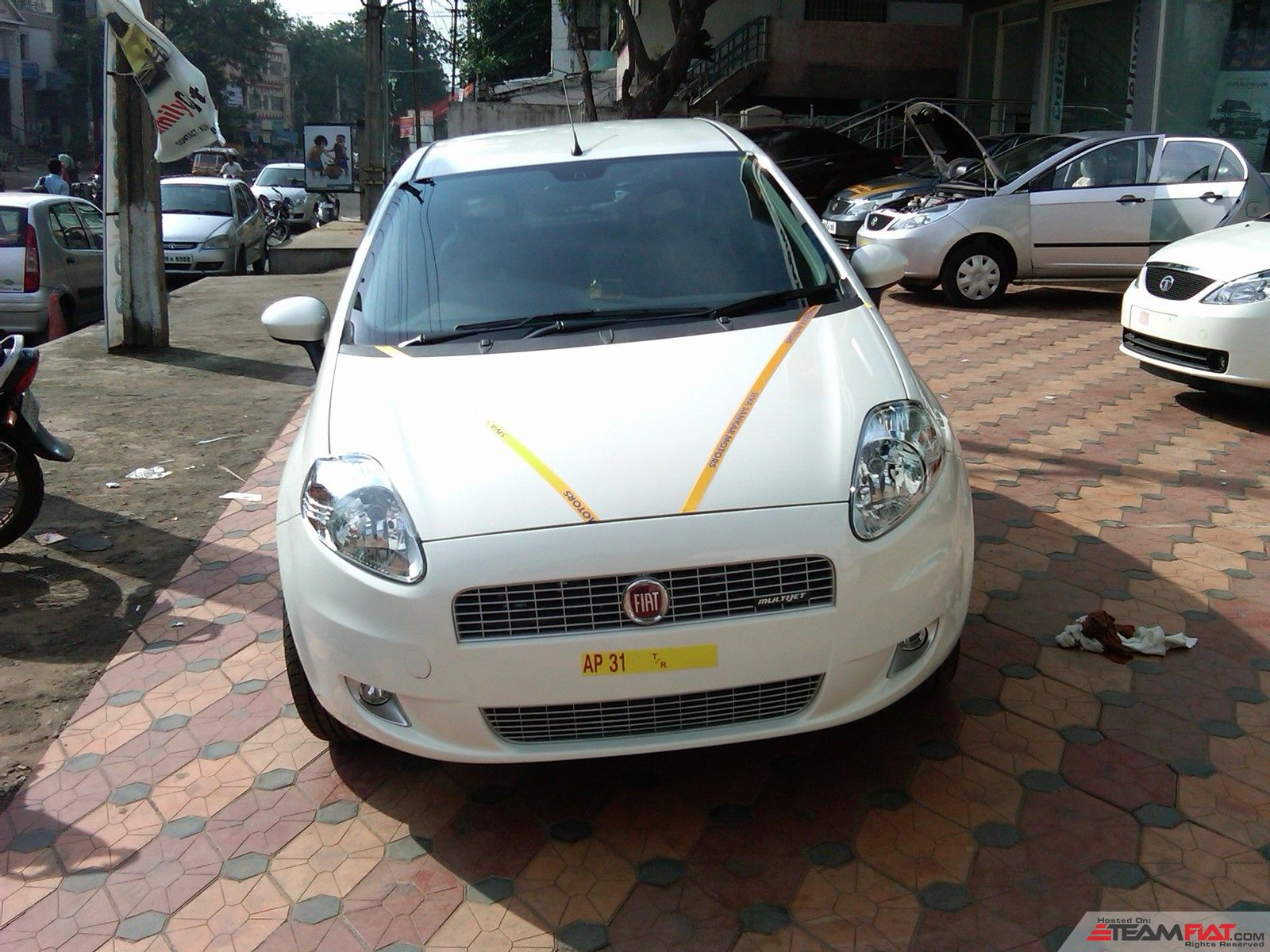 My new punto ready to be delivered,17-nov-2010.jpg
