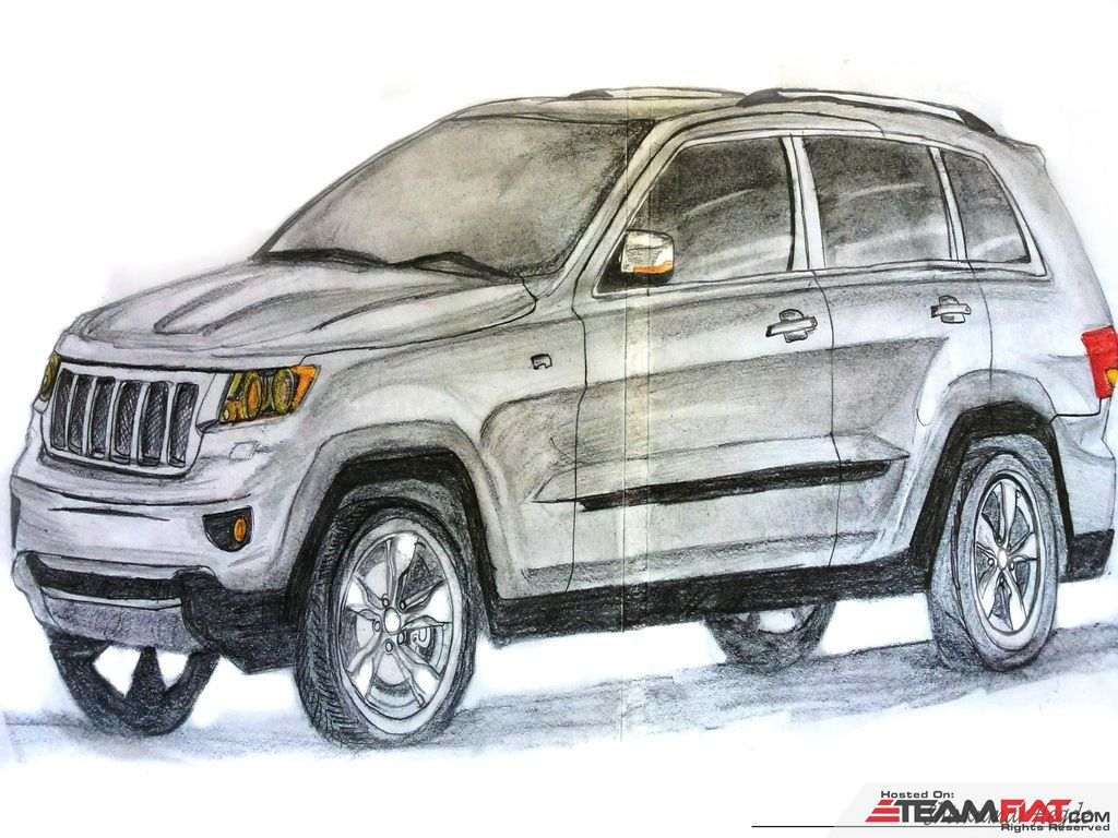 Shivkumar's sketch of Jeep-grand Cherokee_edit.jpg
